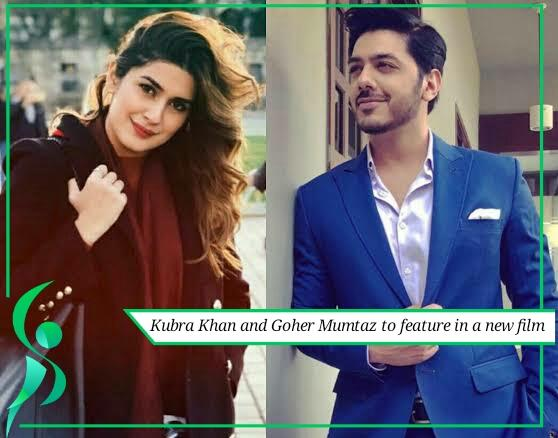 Kubra Khan and Goher Mumtaz