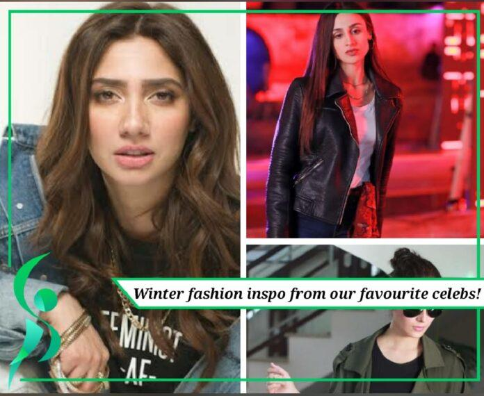 Winter fashion inspo from Pakistani celebrities