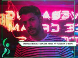 Shamoon Ismail had to end his concert on violation of SOPs