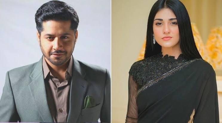 Imran Ashraf and Sarah Khan masterpiece Raqs-e-bismil first look