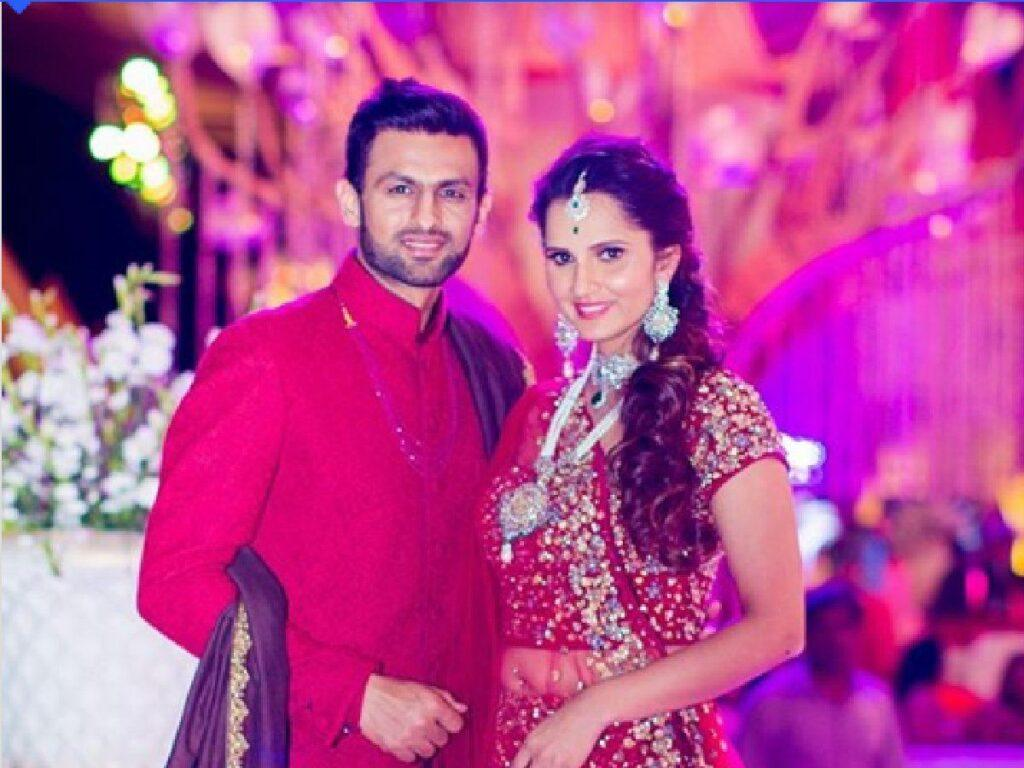 Sania Mirza arrives in Karachi to support husband for PSL