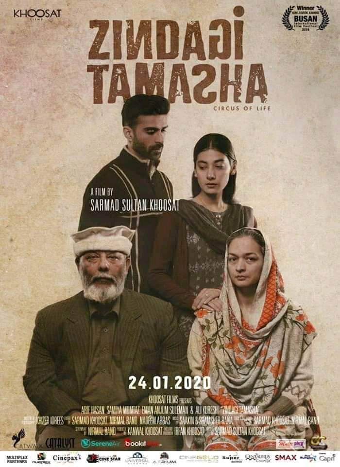 Zindagi Tamasha represents Pakistan in the Oscars!