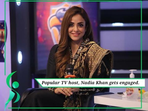 Nadia Khan engagement