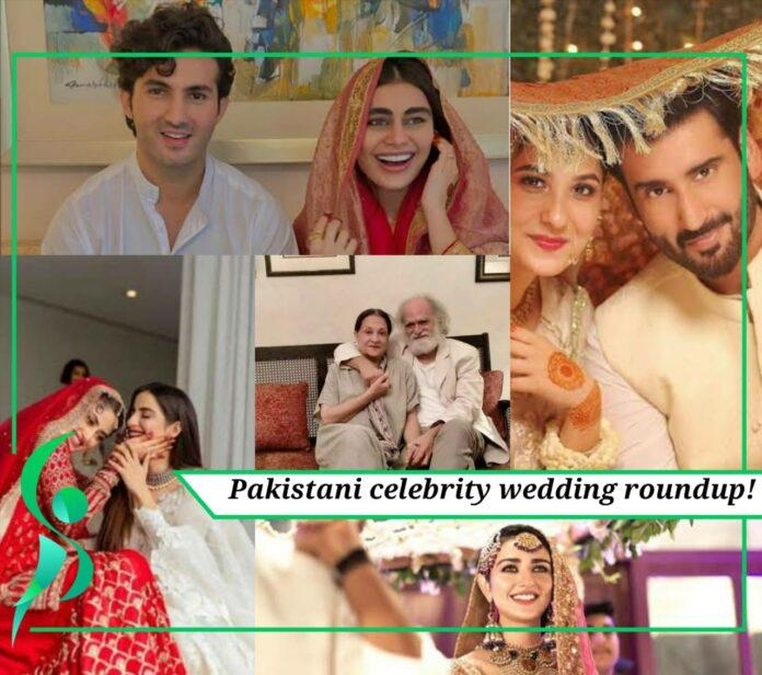 Pakistani celebrity wedding