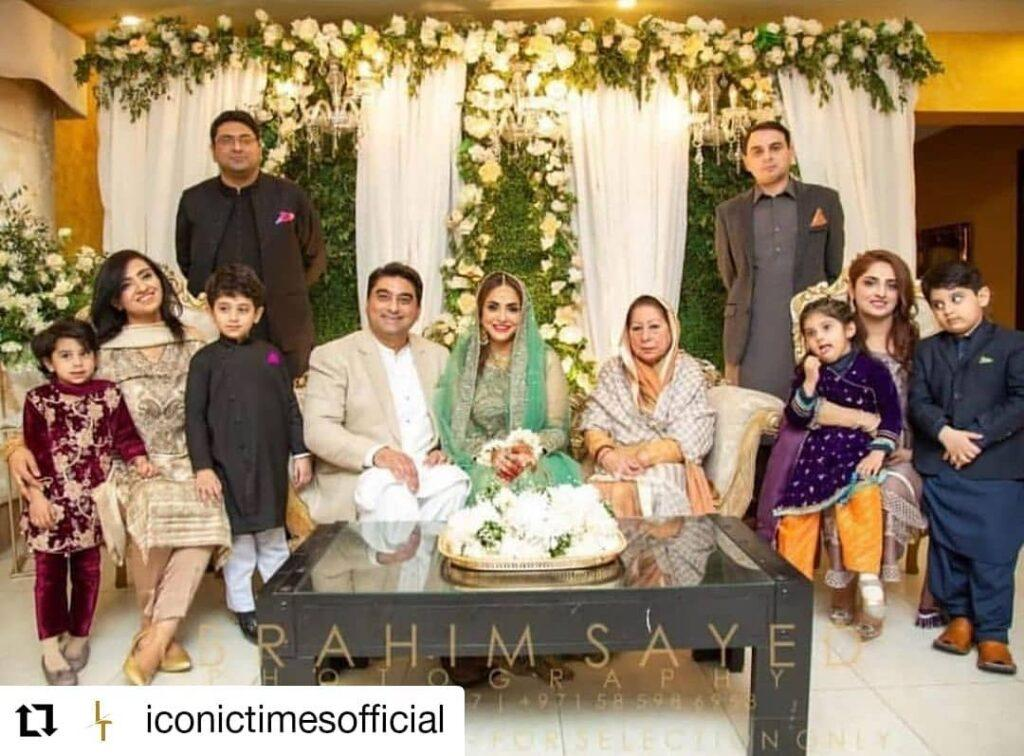 TV host Nadia Khan released her wedding pictures!
