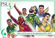 who will be seen at the opening ceremony