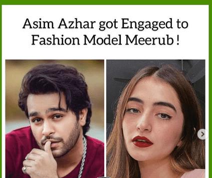 Are Asim Azhar and Merub Ali Engaged?